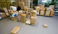 Kinijos paštas žada dezinfekuoti siuntas