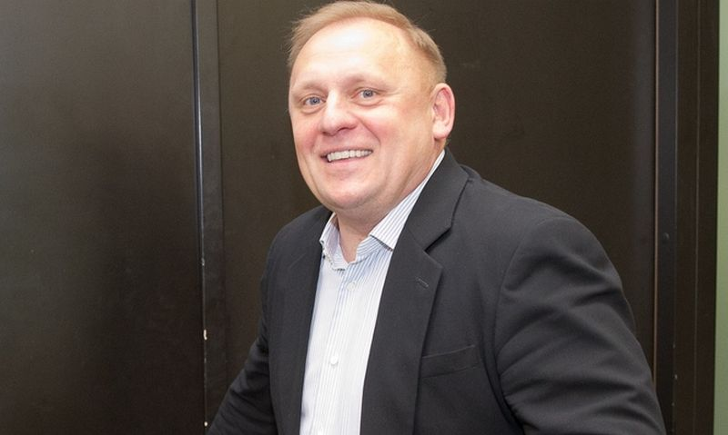 SEB banko valdybos pirmininkas Raimondas Kvedaras. Vladimiro Ivanovo (VŽ) nuotr.