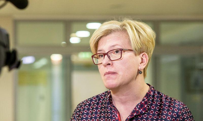 Ingrida Šimonytė, Seimo Tėvynės sąjungos-Lietuvos krikščionių demokratų frakcijos narė. Juditos Grigelytės (VŽ) nuotr.