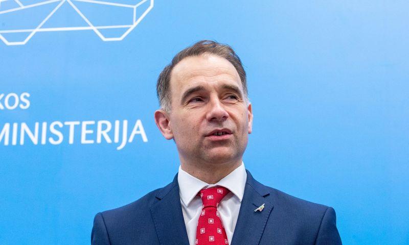 Rokas Masiulis, susisiekimo ministras. Juditos Grigelytės (VŽ) nuotr.