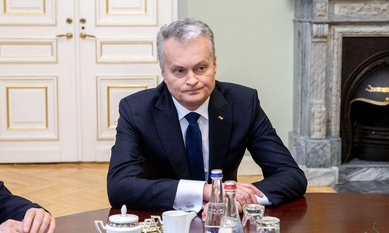 Prezidento Gitano Nausėdos laukia intensyvus derybų dėl būsimo ES biudžeto maratonas. Juditos Grigelytės (VŽ) nuotr.