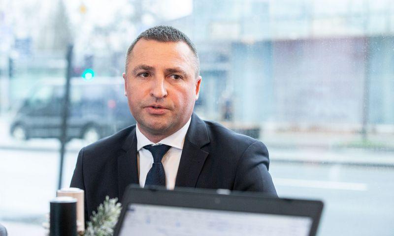 """Rimvydas Jogėla, UAB """"PricewaterhouseCoopers"""" vadovaujantis partneris. Juditos Grigelytės (VŽ) nuotr."""