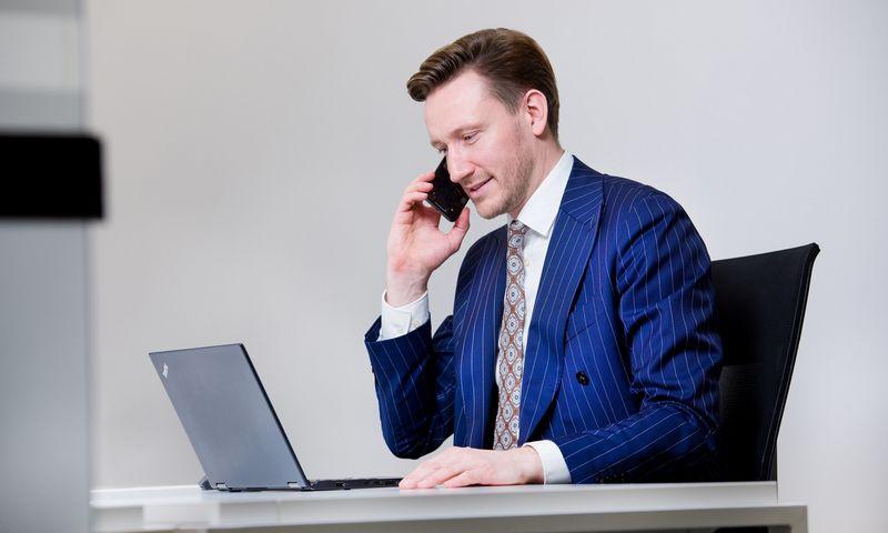 """Paulius Jauga, """"Factris LT1"""" vykdomasis direktorius. Bendrovės nuotr."""