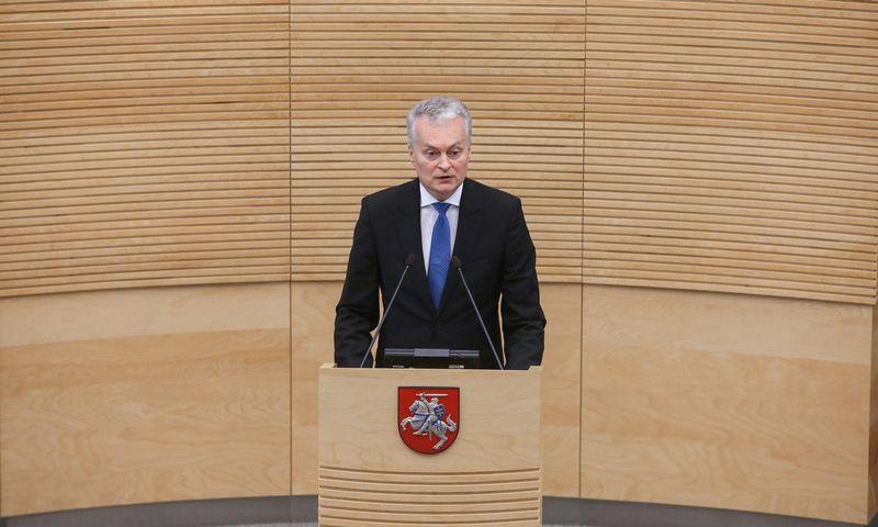 Prezidentas Gitanas Nausėda. Vladimiro Ivanovo (VŽ) nuotr.