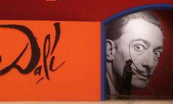 Maskvoje atidaryta viena didžiausių S. Dali kūrinių paroda