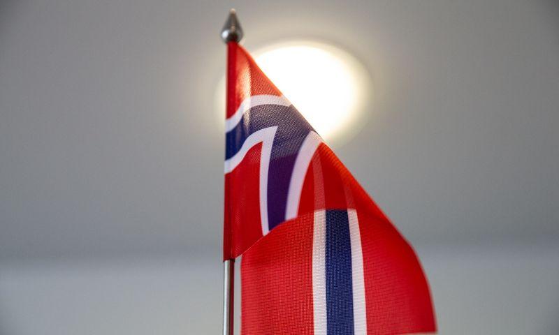 Norvegijos vėliavėlė. Juditos Grigelytės (VŽ) nuotr.