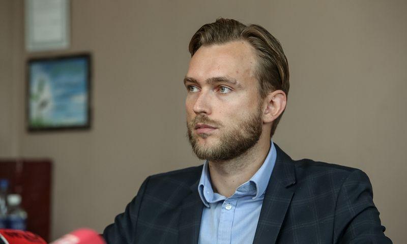 """Tadas Valančius prisijungė prie ryšių su visuomene agentūros """"Publicum"""" komandos. Vladimiro Ivanovo (VŽ) nuotr."""