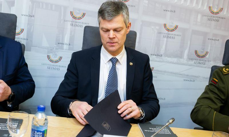 """VSD generalinis direktorius Darius Jauniškis. Žygimanto Gedvilos (""""15 min.""""/""""Scanpix"""") nuotr."""