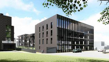 Pakoregavo planuojamo administracinio pastato sostinės Žvėryne projektą