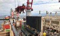 """""""Handelsblatt"""":JAV gali paskelbti naujų sankcijų dujotiekiui""""Nord Stream 2"""""""