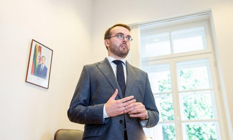 Povilas Mačiulis, prezidento vyriausiasis patarėjas vidaus politikos klausimais. Juditos Grigelytės (VŽ) nuotr.