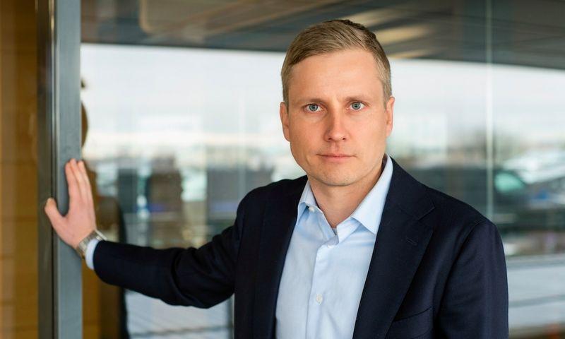 """Markusas Lindkvistas UAB """"Neste Lietuva"""" vadovauja nuo vasario 1 d. Bendrovės nuotr."""