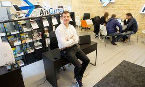 """Virtualios kelionių agentūros """"AirGuru"""" pajamos pernai augo 45%"""