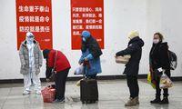 Kinijoje užsikrėtusiųjų koronavirusu skaičius perkopė 28.000