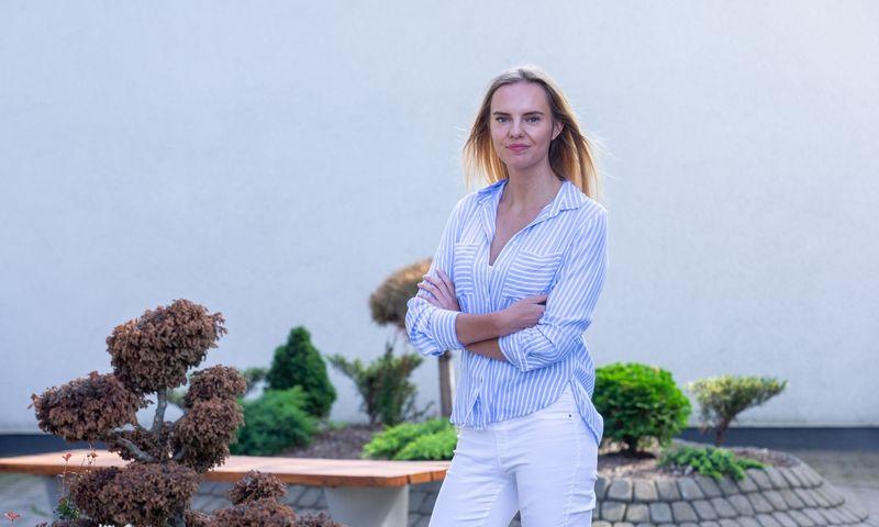 """Ieva Vėjelytė, """"Dive Group"""" tyrimų vadovė: """"Papildomas pardavimas yra silpniausia draudikų aptarnavimo vieta. Beje, ji buvo silpniausia aptarnavimo grandis ir 2018 m."""" Juditos Grigelytės (VŽ) nuotr."""
