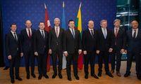 """Baltijos šalių ministrai tarėsi """"Rail Baltica"""" pabaigti laiku"""