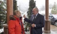 V. Putinas priėmė Baltarusijos lyderį deryboms