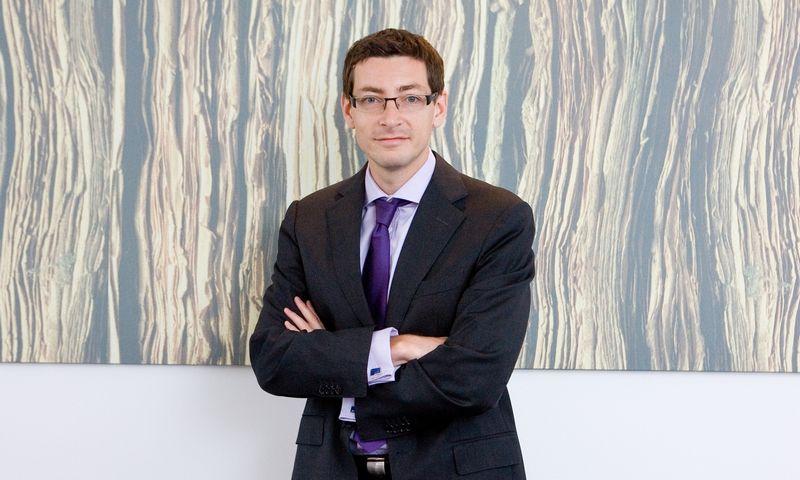 """Mindaugas Rakauskas, nuo kovo mėnesio taps naujuoju SIA """"All Media Latvia"""" generaliniu direktoriumi. Juditos Grigelytės (VŽ) nuotr."""