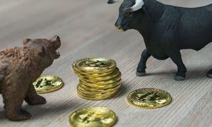 Bitkoinas vėl pasimatavo 10.000 USD kainą