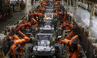 JAV įmonės pernaiįdiegė mažiau robotų