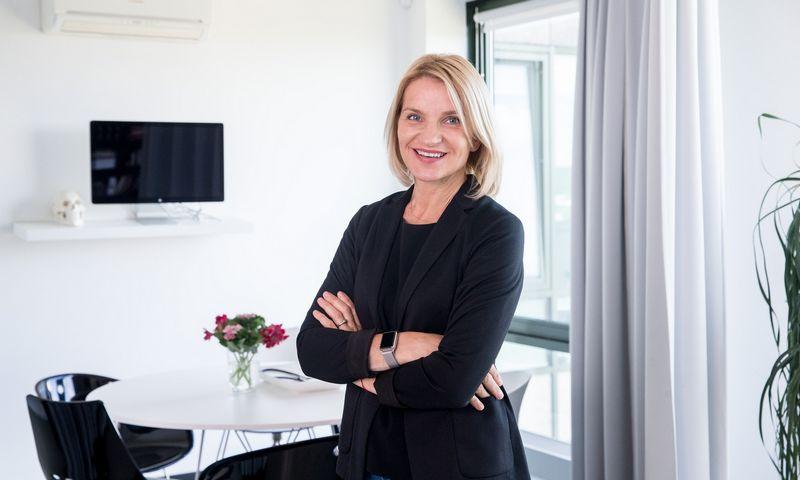 """Kūrybinės agentūros """"Clinic 212"""" direktorė Jolanta Pupkevičienė. Juditos Grigelytės (VŽ) nuotr."""