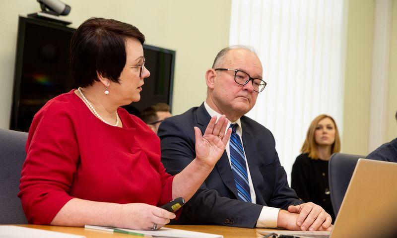 Edita Janušienė, VMI vadovė ir Artūras Klerauskas, jos pavaduotojas. Vladimiro Ivanovo (VŽ) nuotr.