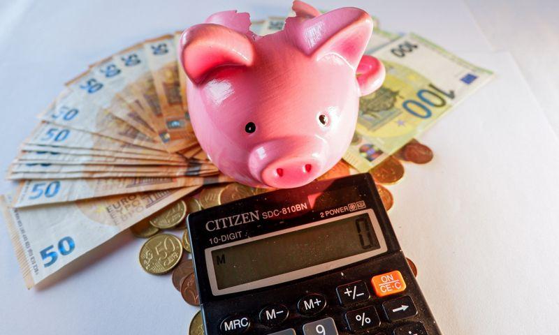 Pinigai yra labai stipri motyvacinė priemonė, o jų trūkumas neigiamai veikia žmogaus gebėjimą atlikti darbą. Juditos Grigelytės (VŽ) nuotr.