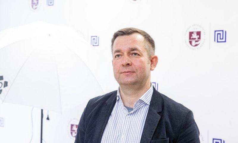 Ramūnas Vilpišauskas, Vilniaus universiteto Tarptautinių santykių ir politikos mokslų instituto dėstytojas. Juditos Grigelytės (VŽ) nuotr.