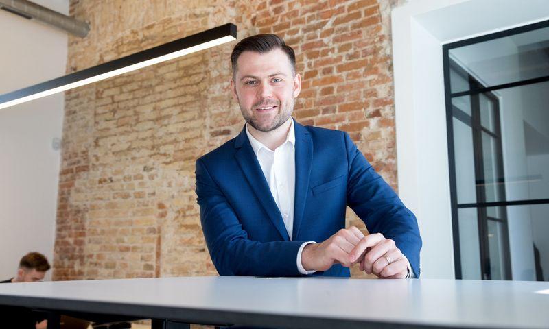 """Arvydas Bložė, rizikos kapitalo investicijų UAB """"Practica Capital"""" investicijų vadovas. Juditos Grigelytės (VŽ) nuotr."""