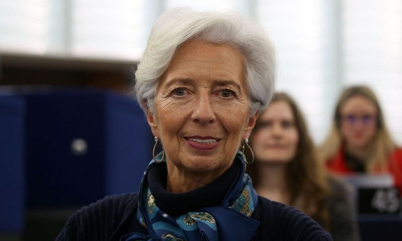 "ECB vadovė Christine Lagarde. Alain Robert (SIPA / ""Scanpix"") nuotr."