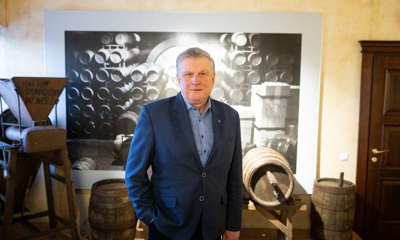 """Rimantas Čygas, TŪB """"Rinkuškiai"""" direktorius: """"Gaminame ne tik įprastą alų, bet ir kitus gėrimus."""" Vladimiro Ivanovo (VŽ) nuotr."""