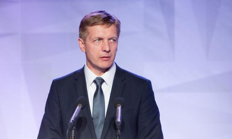 Arvydas Vaitkus, buvęs Klaipėdos valstybinio jūrų uosto direkcijos generalinis direktorius. Juditos Grigelytės (VŽ) nuotr.