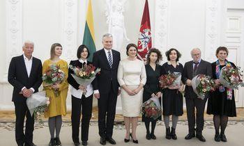Įteiktos Lietuvos nacionalinės kultūros ir meno premijos