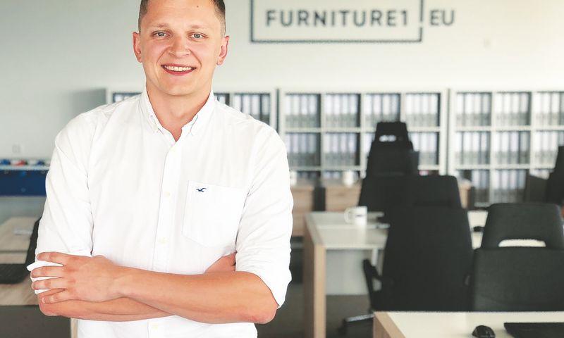 """Pijus Makarevičius, """"Furniture1"""" įkūrėjas ir vadovas: """"Verslas naujose rinkose auga sparčiau ir netrukus pradės kurti didesnę dalį pajamų."""" Asmeninio archyvo nuotr."""