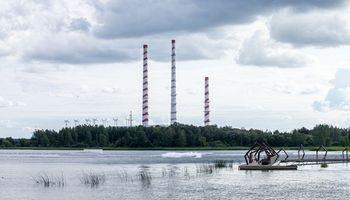 Elektrėnų moderniausias blokas veikia visa galia