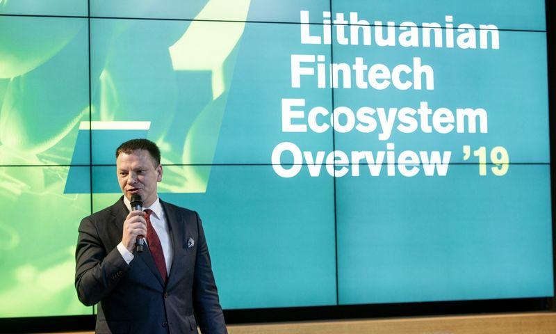 Tiek finansų ministras Vilius Šapoka (nuotraukoje), tiek Marius Jurgilas, LB valdybos narys, renginyje akcentavo finansinio tvarumo ir rizikų klausimus. Vladimiro Ivanovo (VŽ) nuotr.