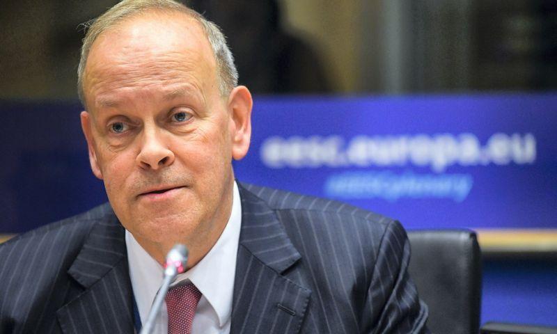 Kristeris Anderssonas, Švedijos mokesčių ekspertas ir Europos ekonominių ir socialinių reikalų komiteto Darbdavių grupės viceprezidentas. EESRK nuotr.