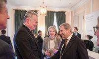 G. Nausėda Miunchene pristatė investavimo Lietuvoje galimybes