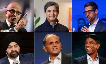 Korporacijas pasiekė CEO iš Indijos banga