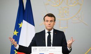 Dalis prancūzų ketina nubausti E. Macroną, iš to išloš M. Le Pen ir žalieji