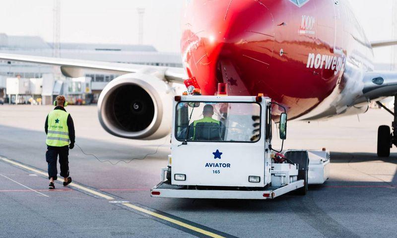 """Nuo šiol ASG priklausanti """"Aviator"""" teikia antžemines paslaugas 15-oje oro uostų. ASG nuotr."""