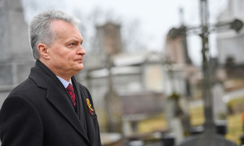 Roberto Dačkaus (LR Prezidentūra) nuotr.