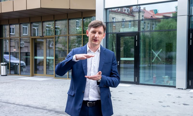 """Martynas Žibūda, """"Eikos"""" plėtros direktorius. Juditos Grigelytės (VŽ) nuotr."""