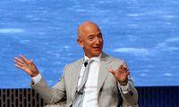 J. Bezosas skyrė 10 mlrd. USD kovai su klimato kaita