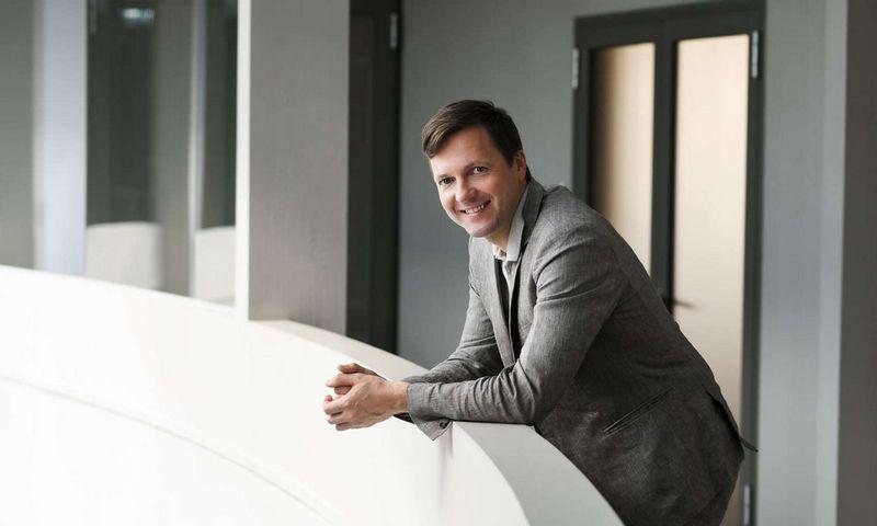 """""""Noviti Finance"""" direktorius Linas Armalys. Bendrovės nuotr."""