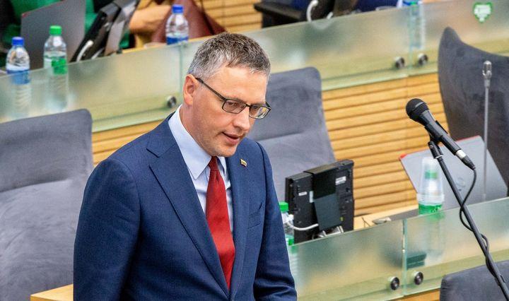 Po V. Bako informacijos šaukiamas specialus Seimo komiteto posėdis