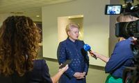 D. Grybauskaitė: penktadienį derybos Briuselyje žlugo