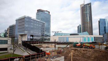 Modernių biurų koncentracija Vilniuje keičia judėjimo įpročius