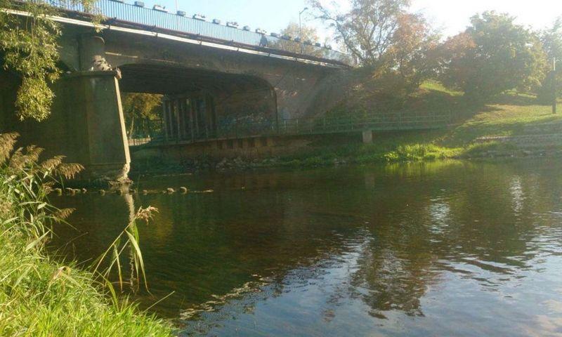 Numatomas remontuoti tiltas per Šešupę Marijampolėje. Bendrovės nuotr.