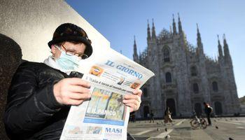 Italijoje nuo koronaviruso mirė penktas žmogus